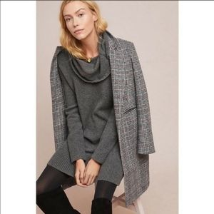 Anthropologie Sonoran Cowl neck Knit Tunic/Dress
